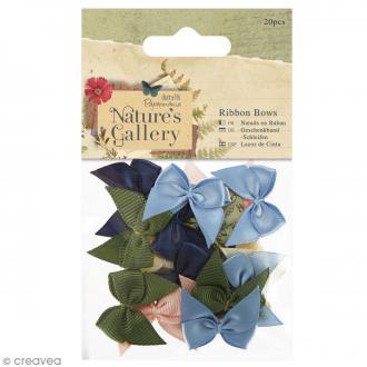 Noeud en ruban - Nature's gallery - 20 pcs