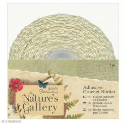 Lace tape dentelle Nature's Gallery - 15 mm x 5 mètres