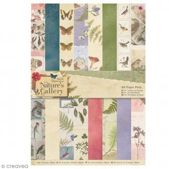 Papier scrapbooking Papermania - Nature's Gallery A4 - 32 feuilles