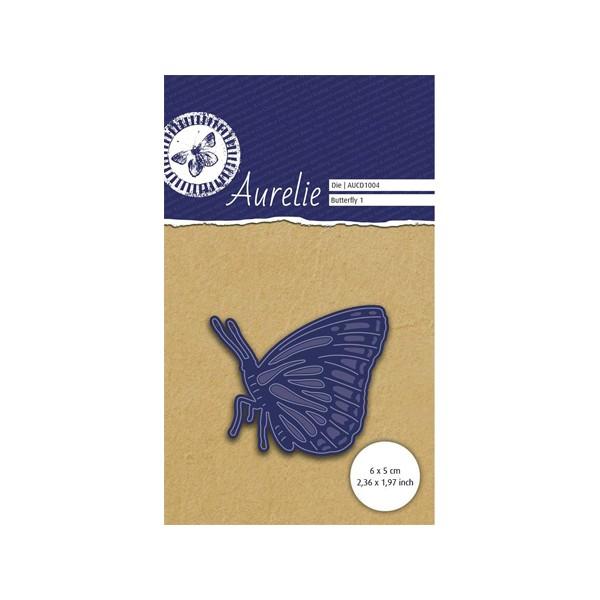 1 Die - Papillon 1 6x4,5 cm - Photo n°1
