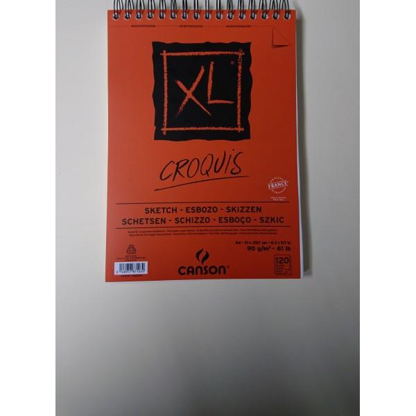 Carnet A4 Canson XL - Croquis - 120 feuilles - Photo n°2
