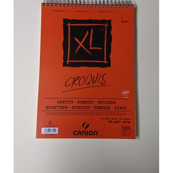 Carnet croquis Canson A3 - Photo n°1