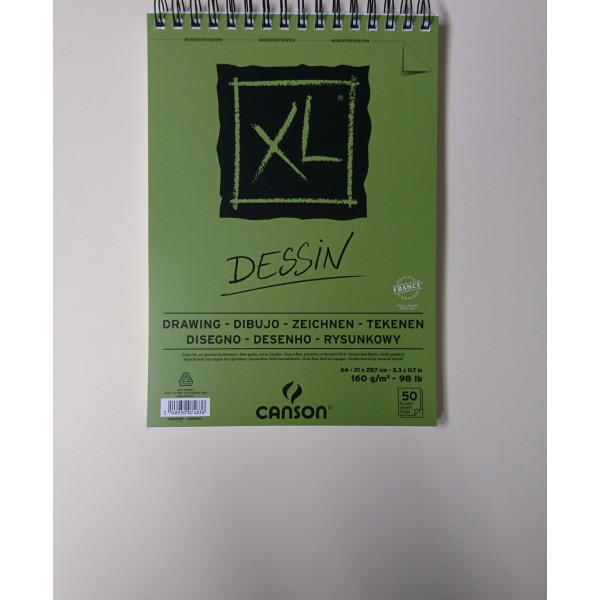 Carnet A4 Canson XL - Dessin - 50 feuilles - Photo n°2
