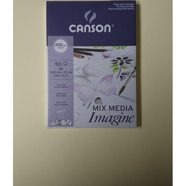 Carnet mix-media Canson A5 - Photo n°2