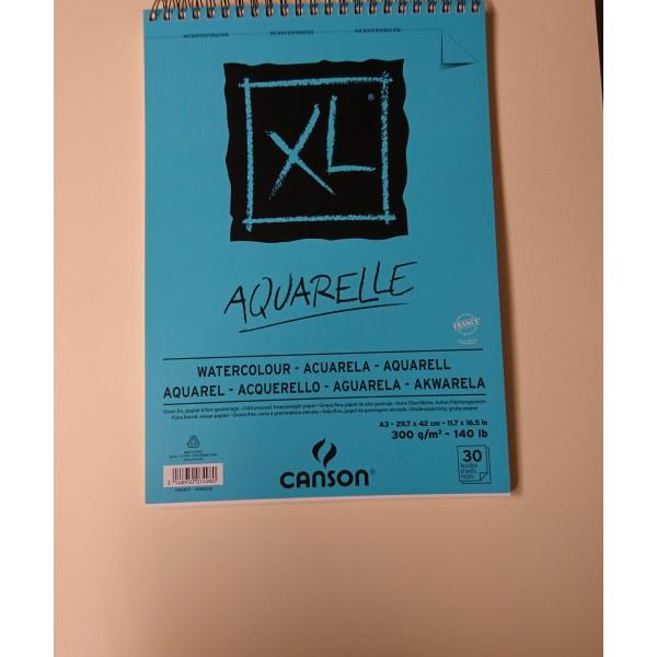 Carnet aquarelle Canson A3 - Photo n°1
