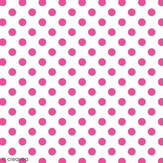 Serviette en papier Pois et rayures - Pois roses - 20 pcs
