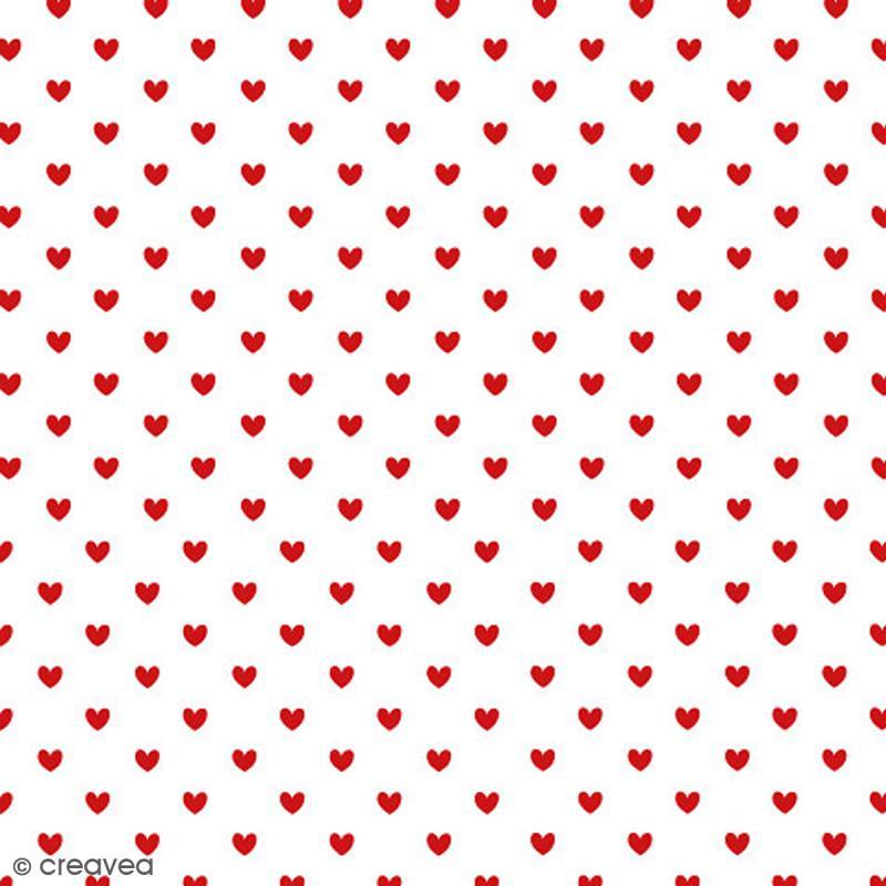 serviette en papier mariage petits coeurs rouges 20 pcs serviette en papier en paquet. Black Bedroom Furniture Sets. Home Design Ideas