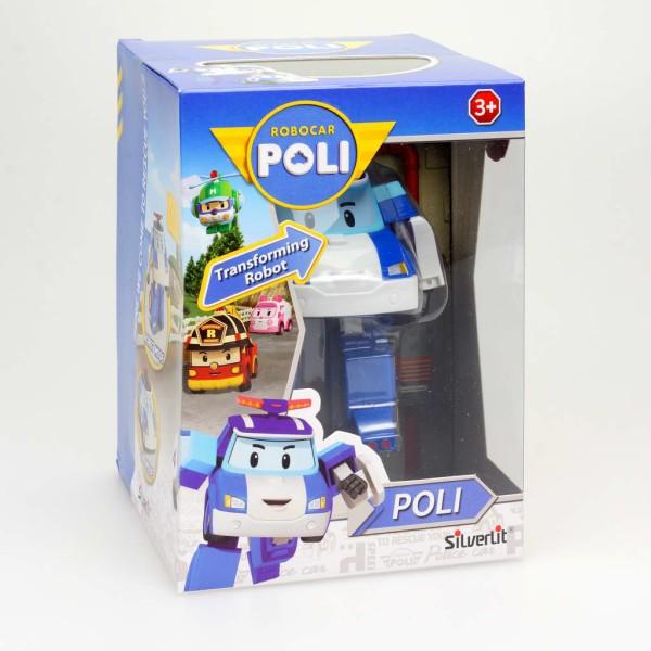 Silverlit Jouet Polymorphe Robocar Poli Poli Bleu Sl83171 - Photo n°4