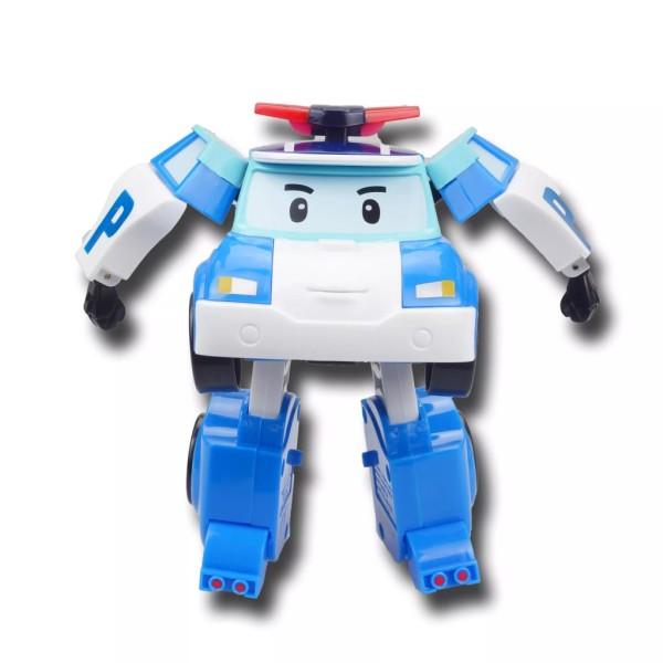 Silverlit Jouet Polymorphe Robocar Poli Poli Bleu Sl83171 - Photo n°1