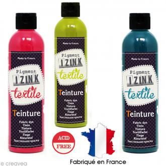 Teinture textile à froid Izink - 180 ml - 12 coloris