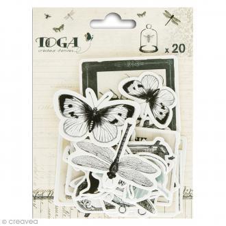 Chipboards Cabinet de curiosités - 20 pcs