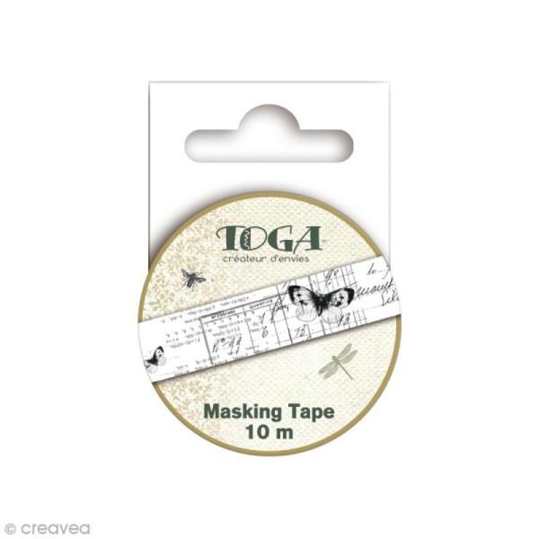 Masking Tape Toga - Cabinet de curiosités - 1,5 cm x 10 m - Photo n°2