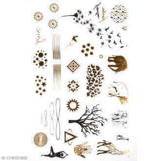 Tatouage temporaire Bijoux - Nature et animaux - 34 tattoos