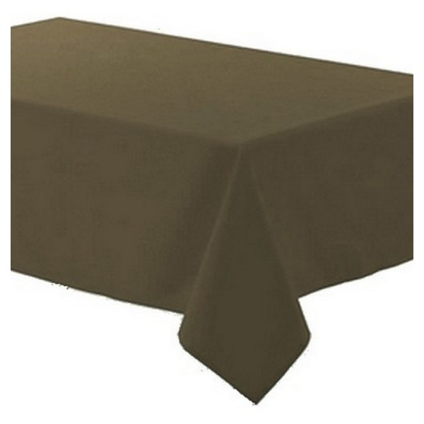 Nappe polyester 140 cm x 250 cm taupe - Photo n°1