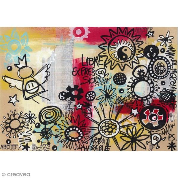 Graph'it shake 2,5 mm - Couleurs basiques - 6 marqueurs peinture - Photo n°4