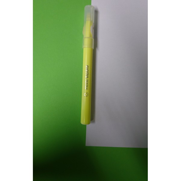 Feutre Giotto textile jaune - Photo n°2