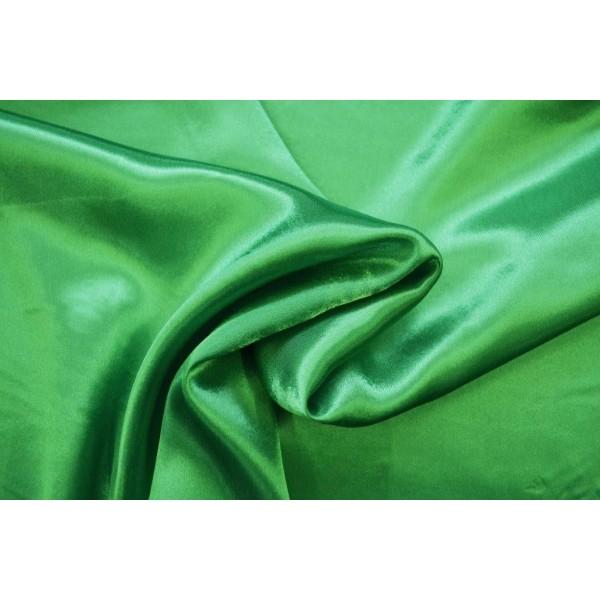 Satin touché soie vert - Photo n°1