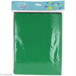 Papier mousse effet éponge - 21 x 27,5 cm - 10 feuilles assorties