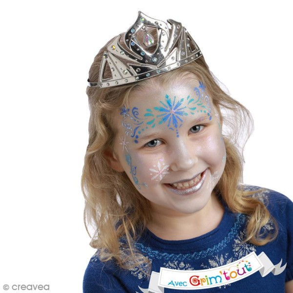 Pochoir maquillage adhésif Grim'tout - Reine des neiges - Photo n°2