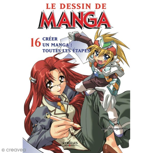 Livre Le Dessin De Manga N 16 Creer Un Manga Toutes Les Etapes