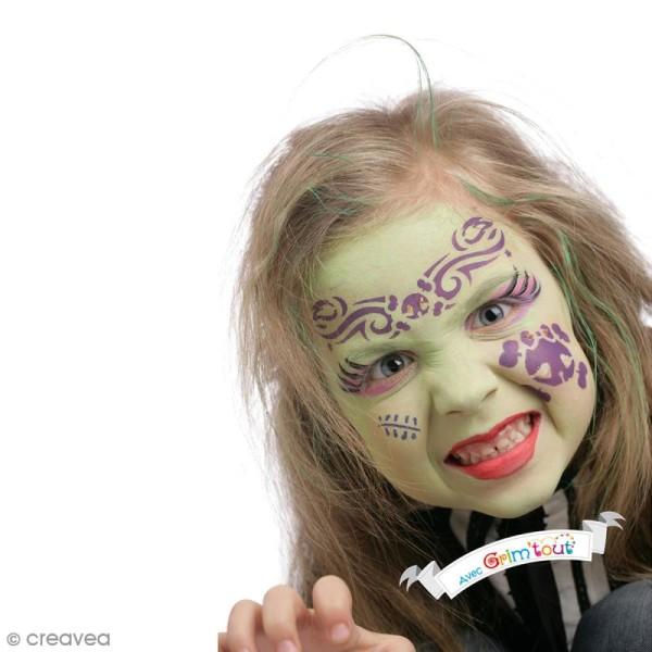 Maquillage Maléfice - 9 couleurs Grim'tout - Sans paraben - Photo n°3