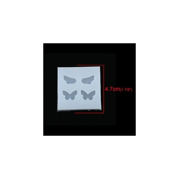 S116791 PAX 2 Moules en Silicone Ailes et Papillons pour Creation Fimo Cernit Resine - Photo n°1