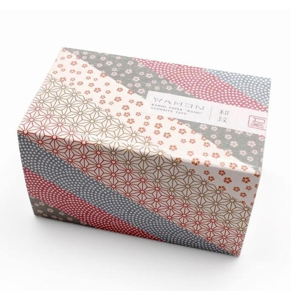 Masking tape fleurs - Assortiment wamon n°3 - 6 rouleaux - Photo n°3