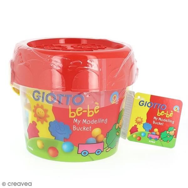 Kit de modelage Giotto bébé - Pâte à modeler et outils - 12 pcs - Photo n°1