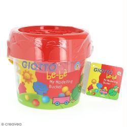 Kit de modelage Giotto bébé - Pâte à modeler et outils - 12 pcs