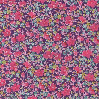 Tissu Liberty John rose - 5052 B - Par 10 cm (sur mesure)