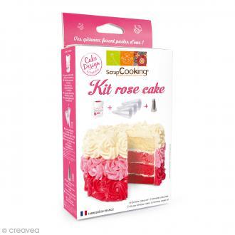 Kit ScrapCooking Rose Cake