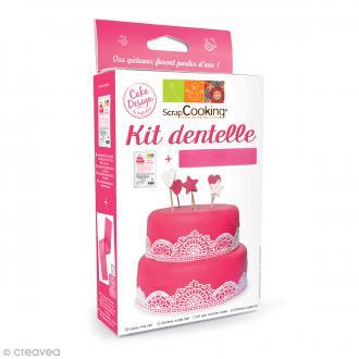 Kit ScrapCooking Dentelle