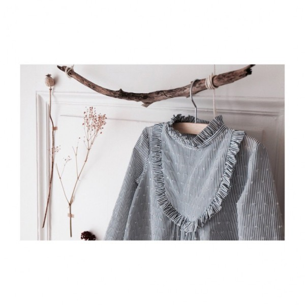 Pochette patron Robe, blouse ou t-shirt IDA pour fille by Ikatee - Photo n°3