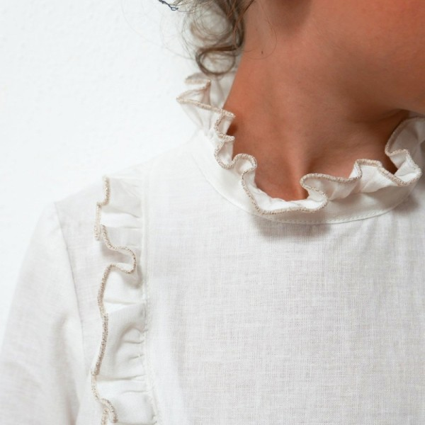 Pochette patron Robe, blouse ou t-shirt IDA pour fille by Ikatee - Photo n°4