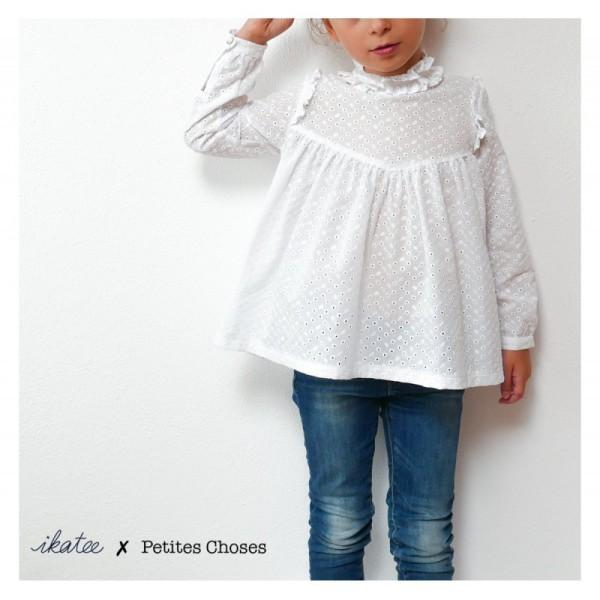 Pochette patron Robe ou blouse LOUISE pour fille by Ikatee - Photo n°1