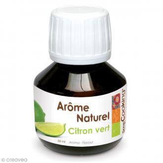 Arome naturel alimentaire Citron vert 50 ml