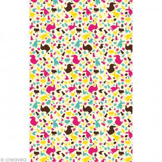Décopatch Multicolore 682 - 1 feuille
