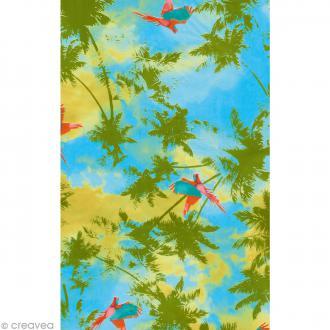 Décopatch Vert et bleu 693 - 1 feuille