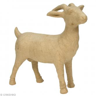 Chèvre 33 x 30,5 cm à décorer