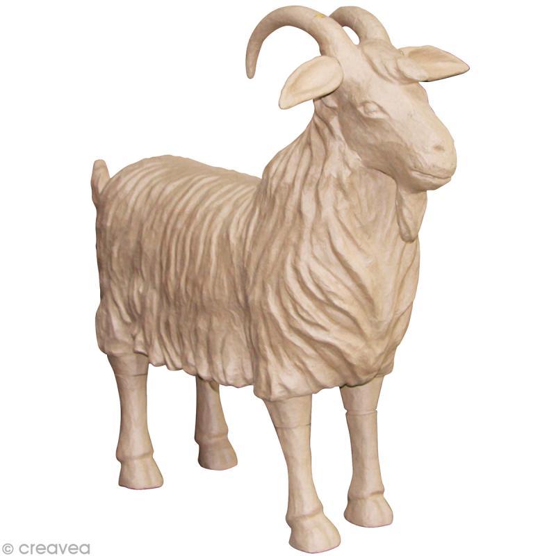 Chèvre à décorer - 100 x 22 x 95 cm - Photo n°1