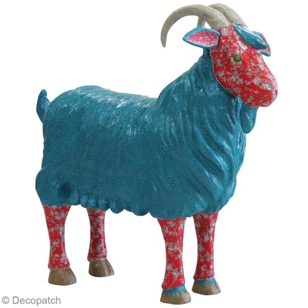 Chèvre à décorer - 100 x 22 x 95 cm - Photo n°2