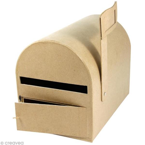 Urne boîte aux lettres 29 x 21 cm à décorer - Photo n°1