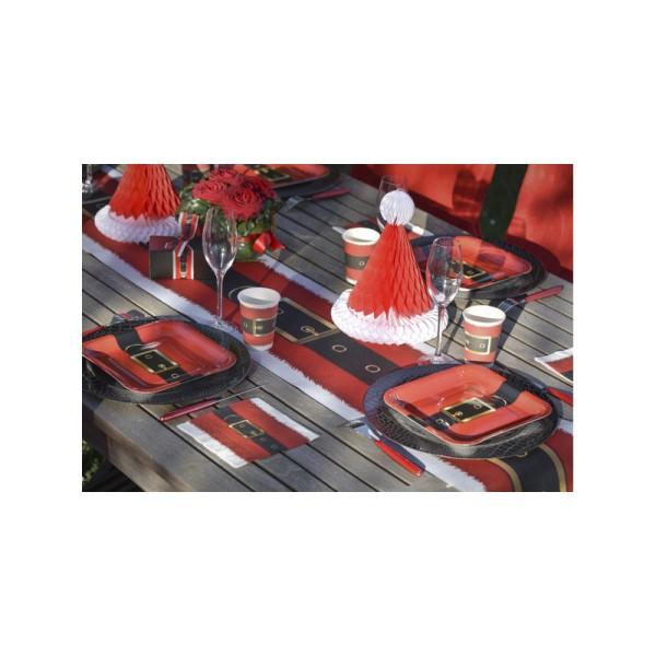 Chemin de table ceinture Père Noël - Photo n°2