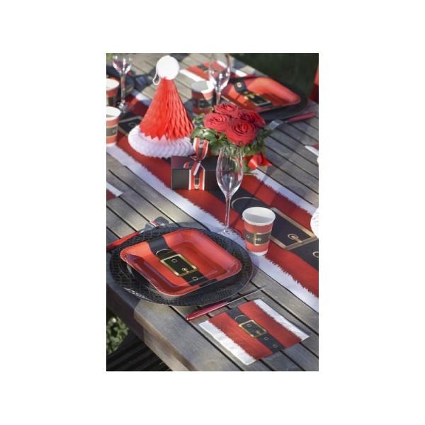 Chemin de table ceinture Père Noël - Photo n°3