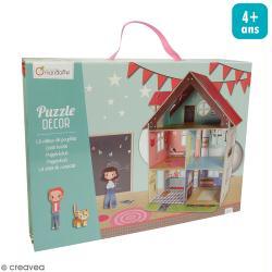Puzzle Décor 3D - Maison de poupées