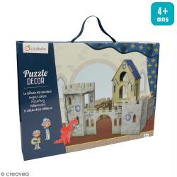 Puzzle Décor 3D - Château de chevaliers
