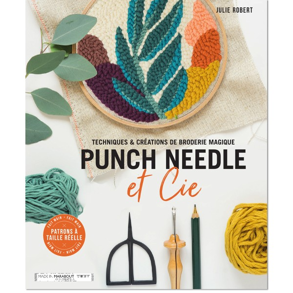 Livre Punch Needle - Photo n°1