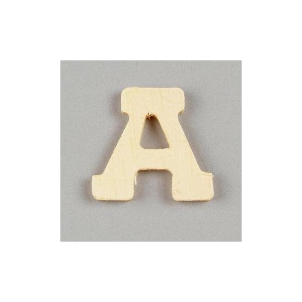 Lettre bois 2cm au choix Alphabet - W - Photo n°1