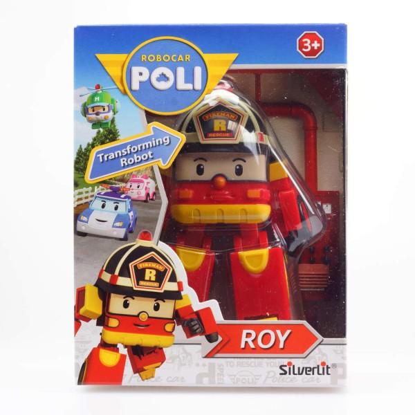 Silverlit Jouet Polymorphe Robocar Poli Roy Rouge Sl83170 - Photo n°4