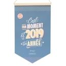 Calendrier mural 2019 C'est ton moment Mr Wonderful 24x40cm